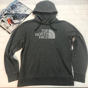 North Face Hoodie Sweater Jacket Grey Large men's